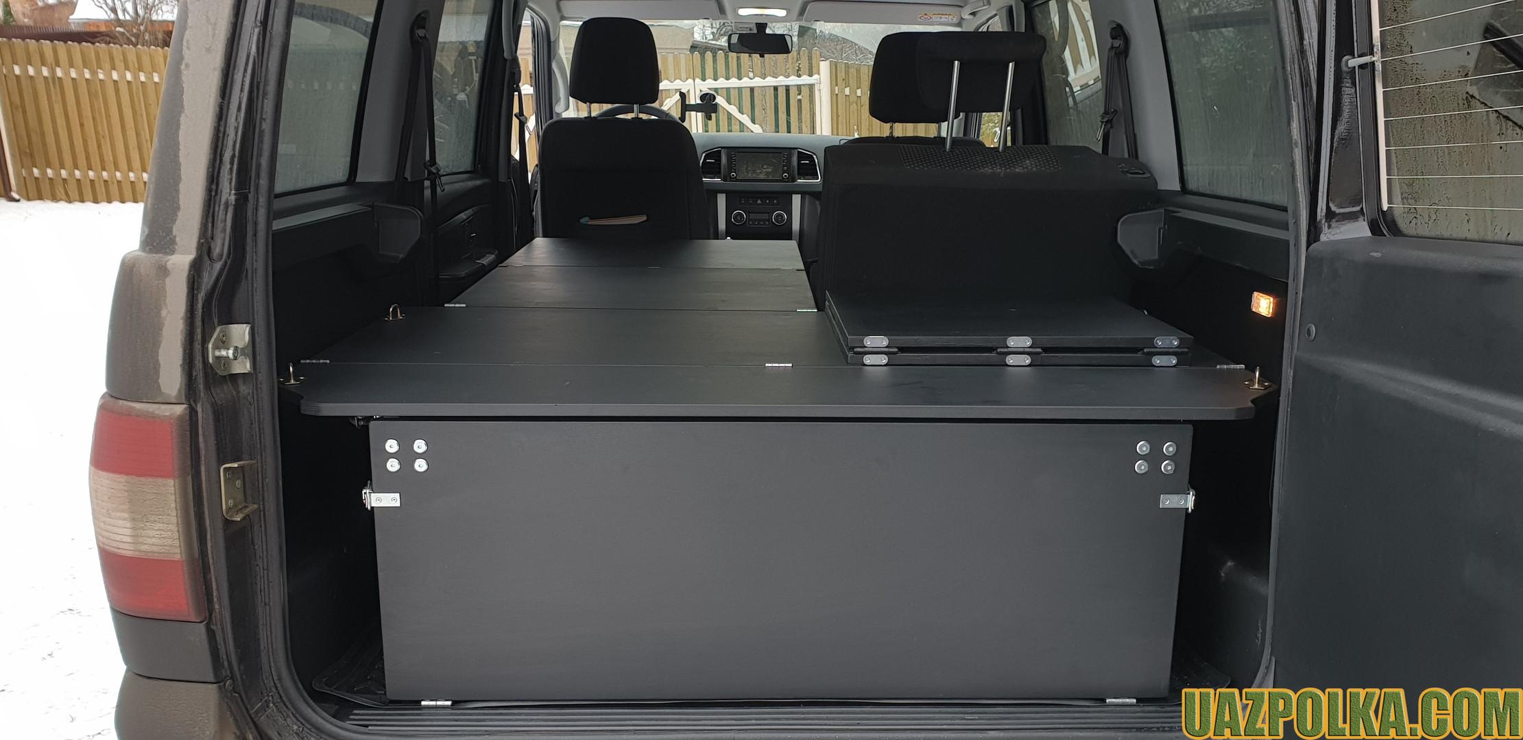 УАЗ Патриот 2019 - ГБО 420 с раздельной