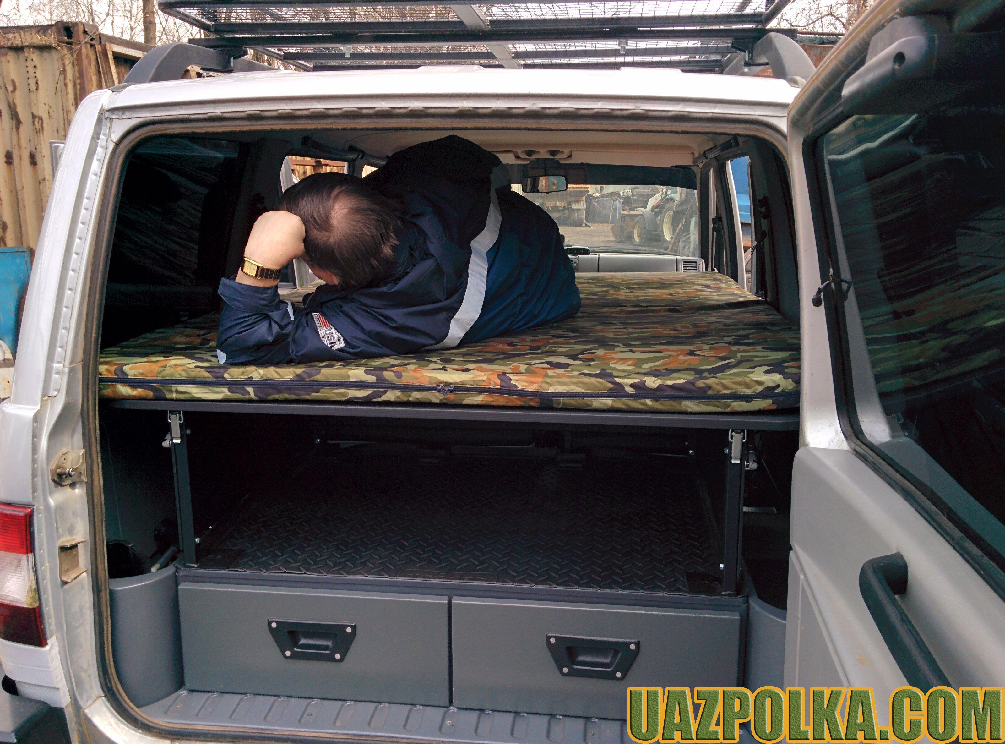 Полка Эконом New с лежанкой на ящиках стороннего производителя_14