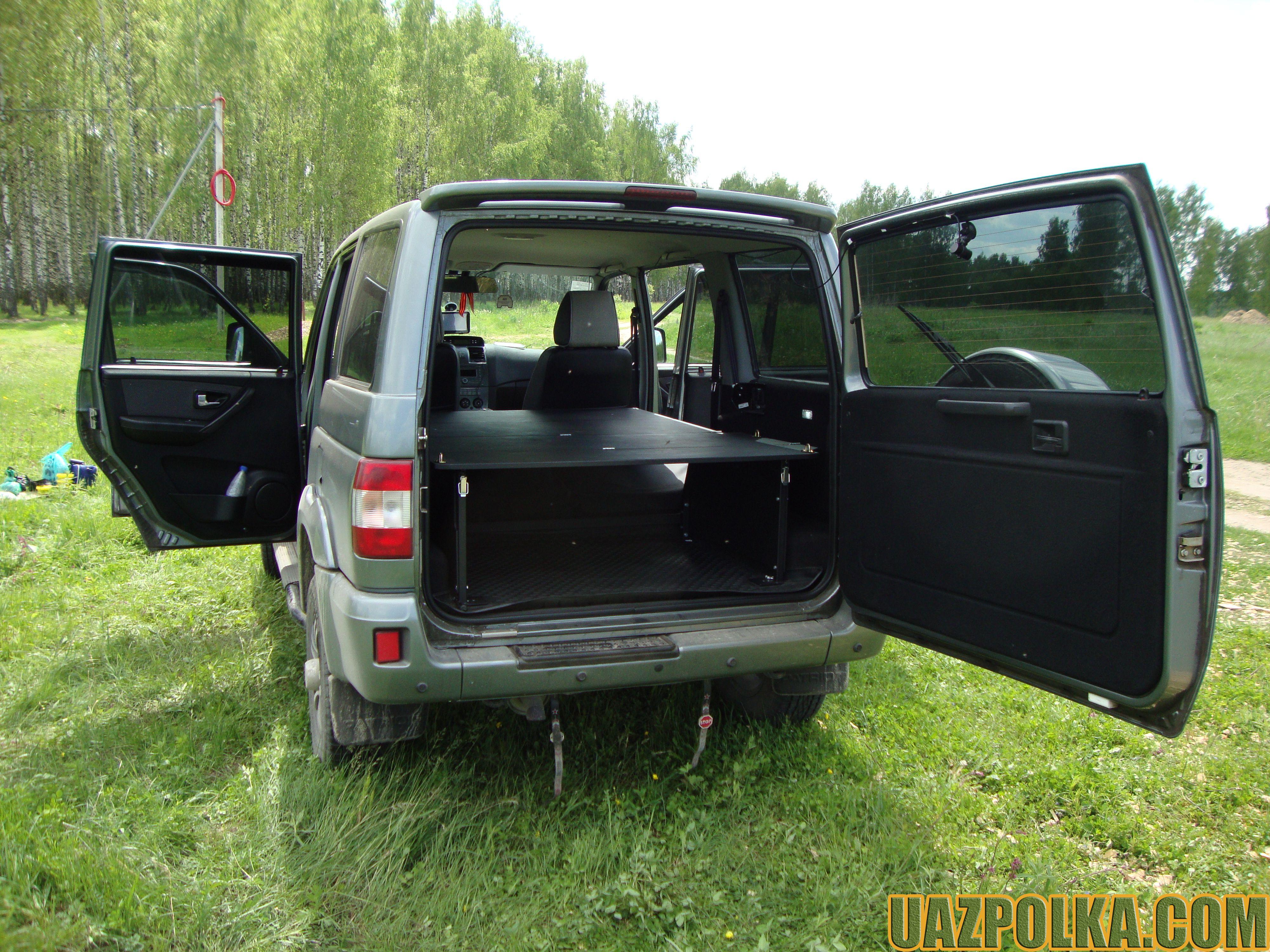 УАЗ Патриот с лежанкой_21
