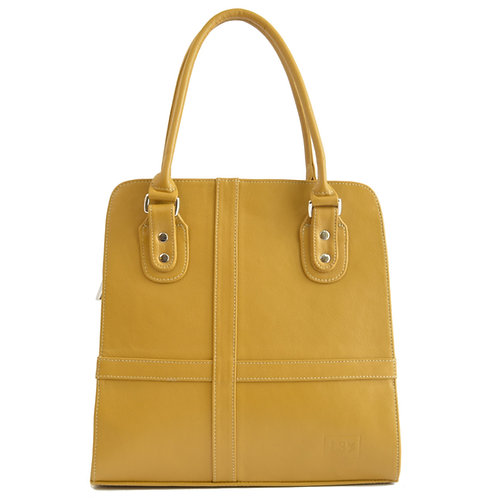 Valencia Mustard Leather Purse