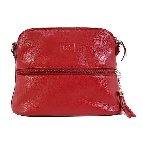 Lily Red Crossbody Bag