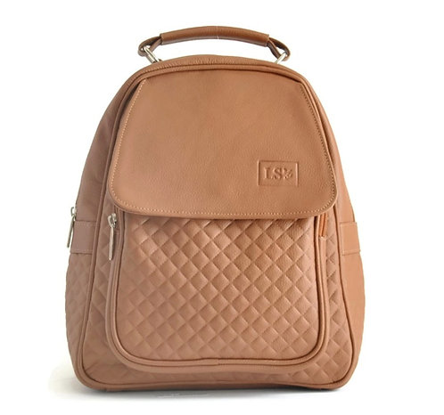 Genuine Camel Leather Backpack Canada