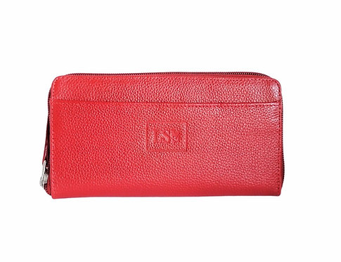 Lucia Red Wallet