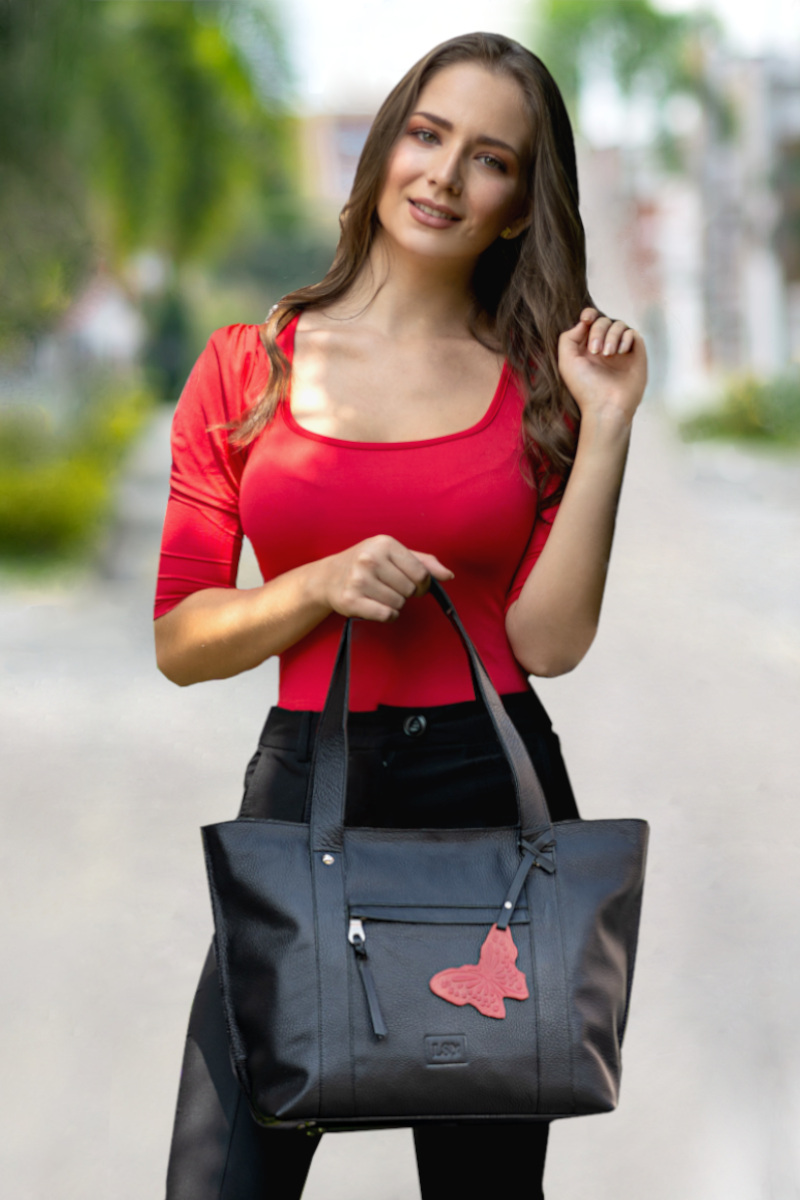 Stella_Black_Leather_Tote_Handbag
