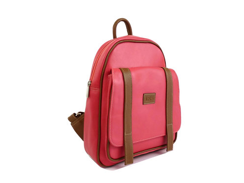 Pink Leather Backpack Canada