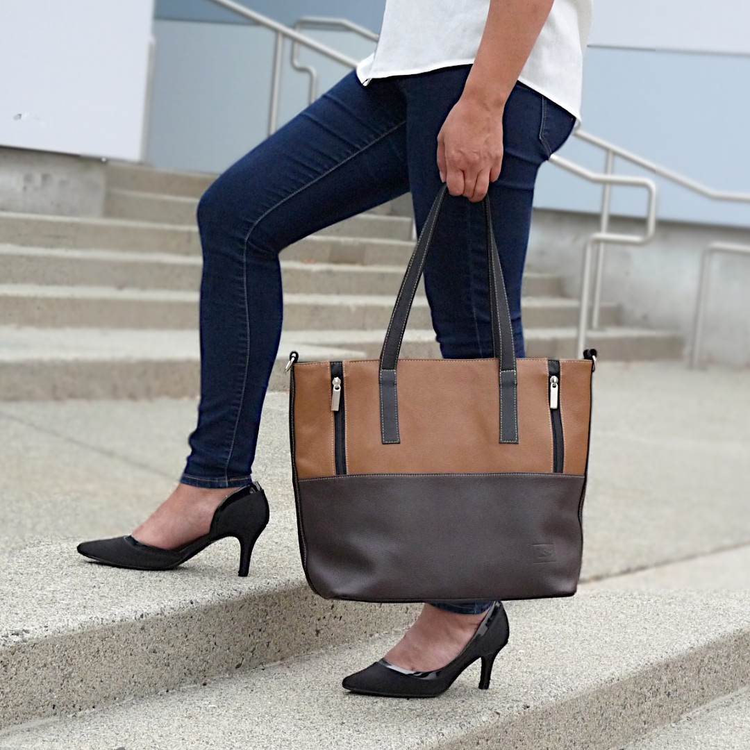 Florence Leather Tote Bag