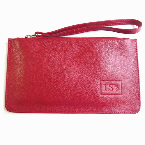 Nice Wristlet/Pouch in Red