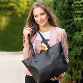 Jasmyn Vegan Leather Tote Bag
