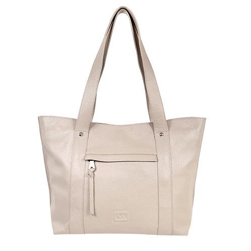 Rosewood Lightweight Leather Handbag