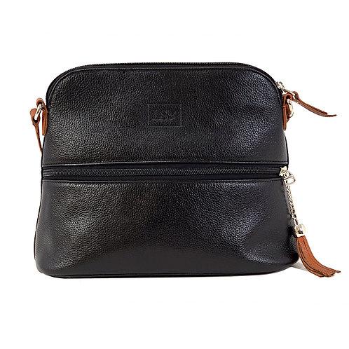 Lily Black Crossbody Bag