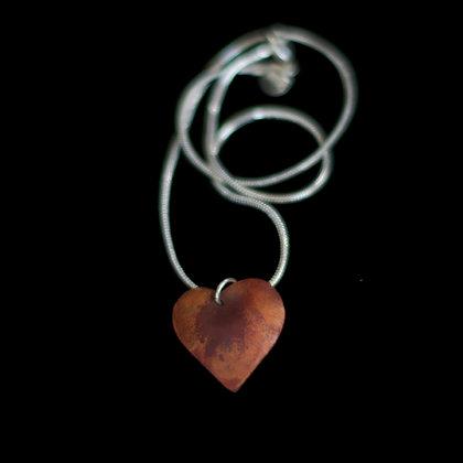 Copper Heart Pendant