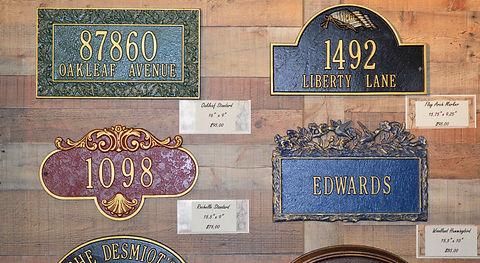 Whitehall Plaques