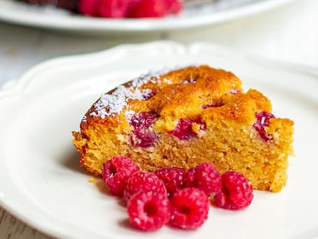 RASPBERRY COCONUT CAKE (PALEO, GLUTEN-FREE)