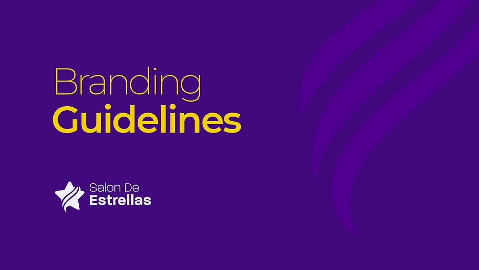 Salon de Estrellas - Branding Guidelines