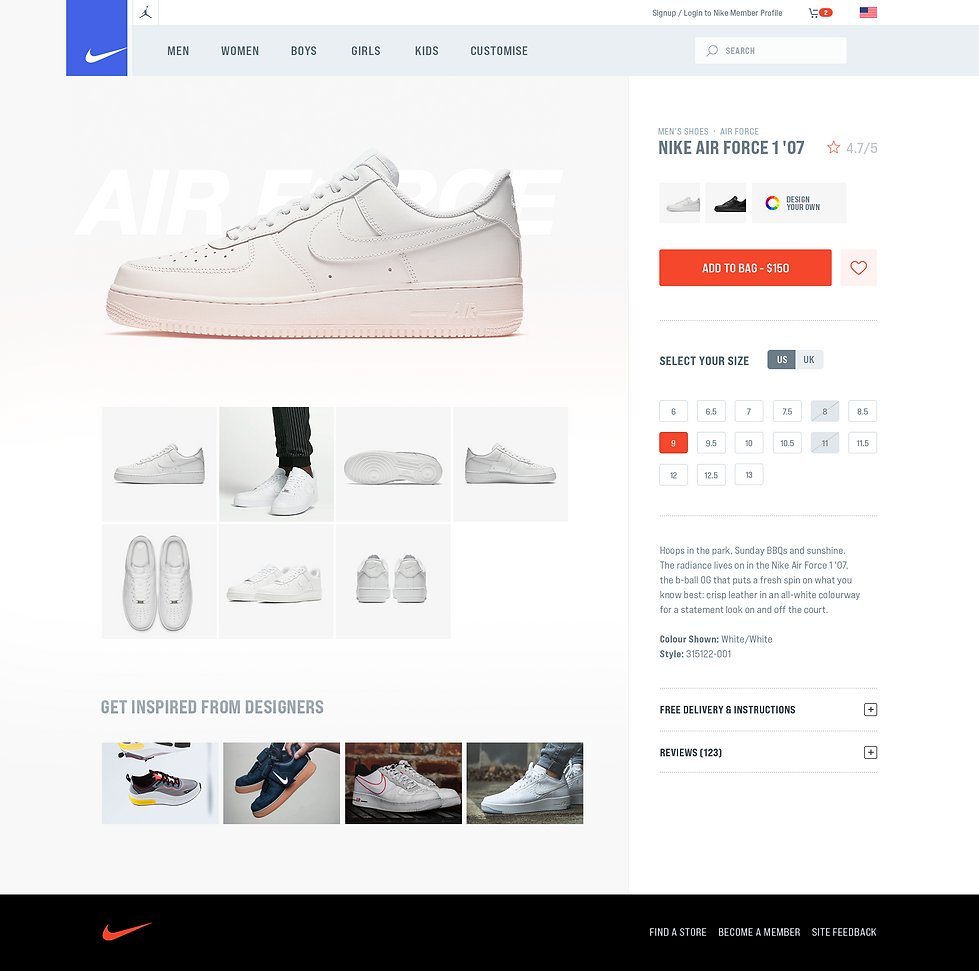 Desktop - Nike Product Page Redesign.png