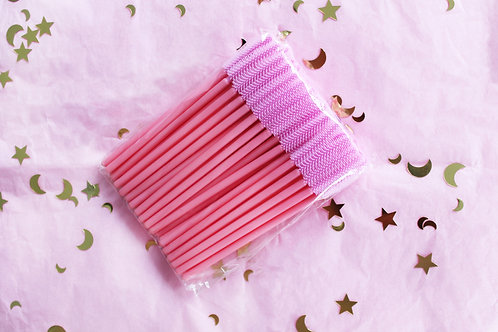 Pink Silicone Brushes