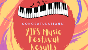 YIP's Music Festival 2021 Results