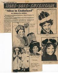 MPT 1982 Dec 7th Telegraph Newspaper Alice in Underland.jpg