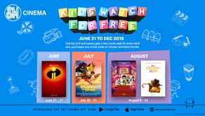 LIST: Free movies for kids at all SM Cinemas NATIONWIDE!