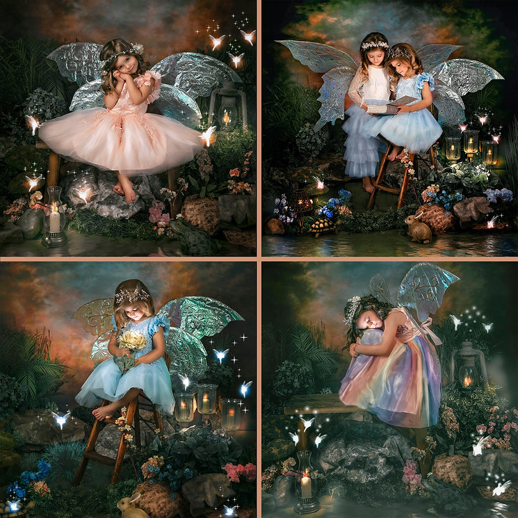 MAGICAL FAIRY PORTRAITS