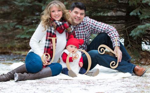 Holiday family shoot.