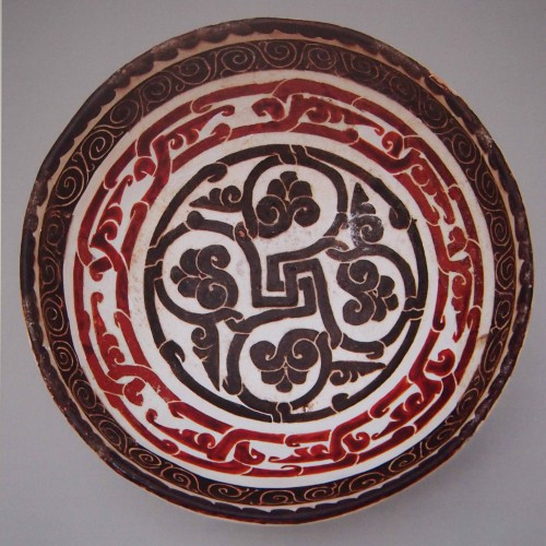 Bowl, Binkat (modern Uzbekistan), 10th century, Samanid or Ghaznavid dynasty, Mardjani collection