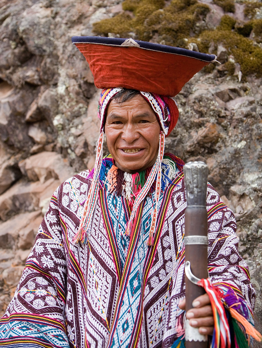 Andean Man. Photo by Cacophony, cc license