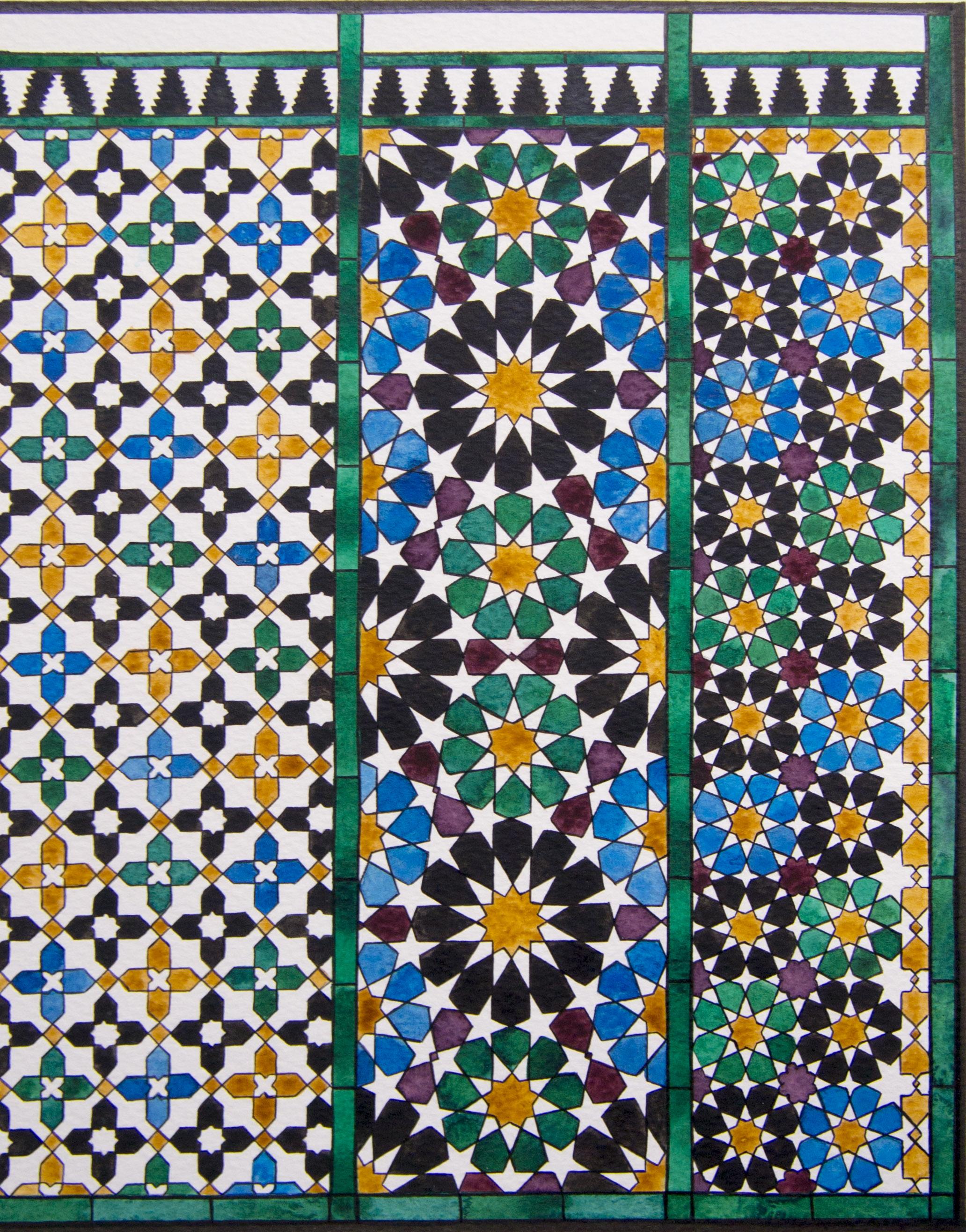 alhambra geometry