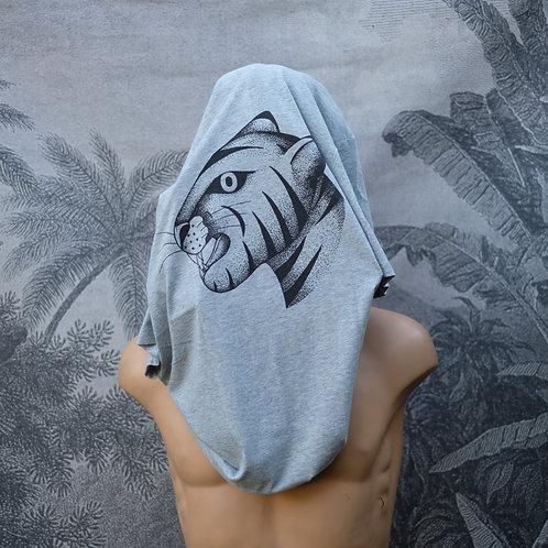 Tshirt Tigre gris chiné