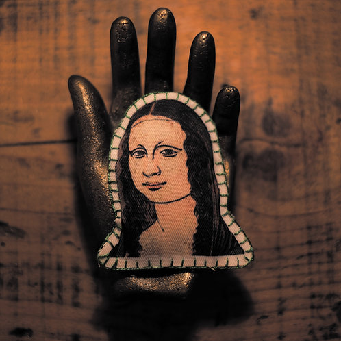 Broche Mona Lisa