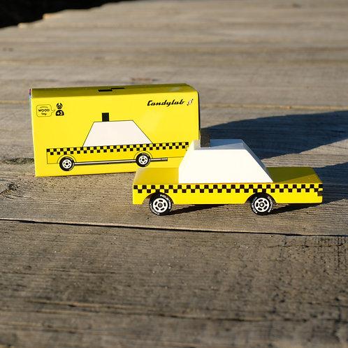 Voiture en bois Taxi