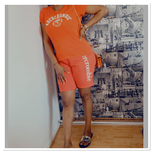 Abercrombie Top and Short