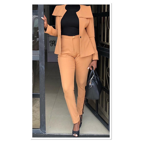 Trendy Trouser suit