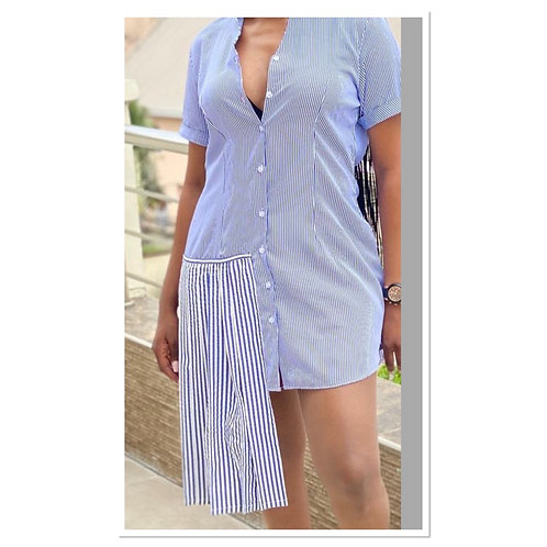 Print short dress
