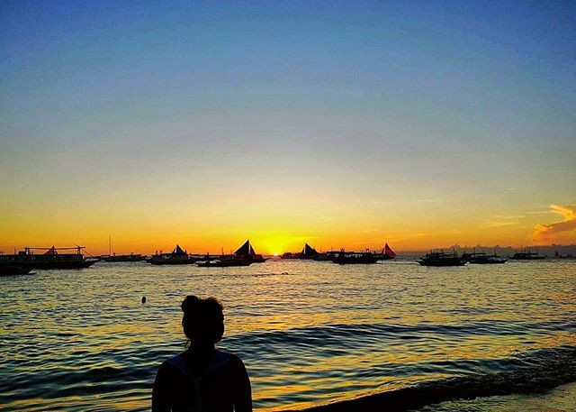 Sunsets in Boracay