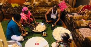 Covid-19: 49वें दिन भी जरूरतमंदों को पहुंचाया जा रहा भोजन