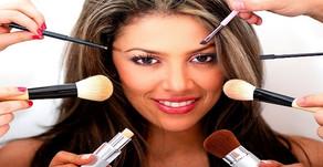 Applying Make-up in Rainy Season