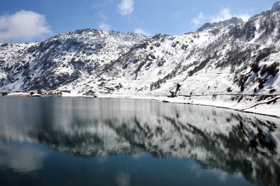 Image result for tsomgo lake