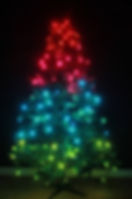 TreeHUE™ - Gradient #7 - App Controlled Christmas Lights