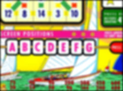 Bally Bingo Backglass