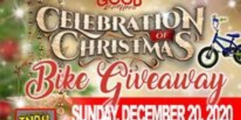 Celebration of Christmas Bike Giveaway South Florida