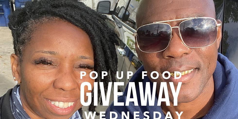 Pop Up Food Giveaway
