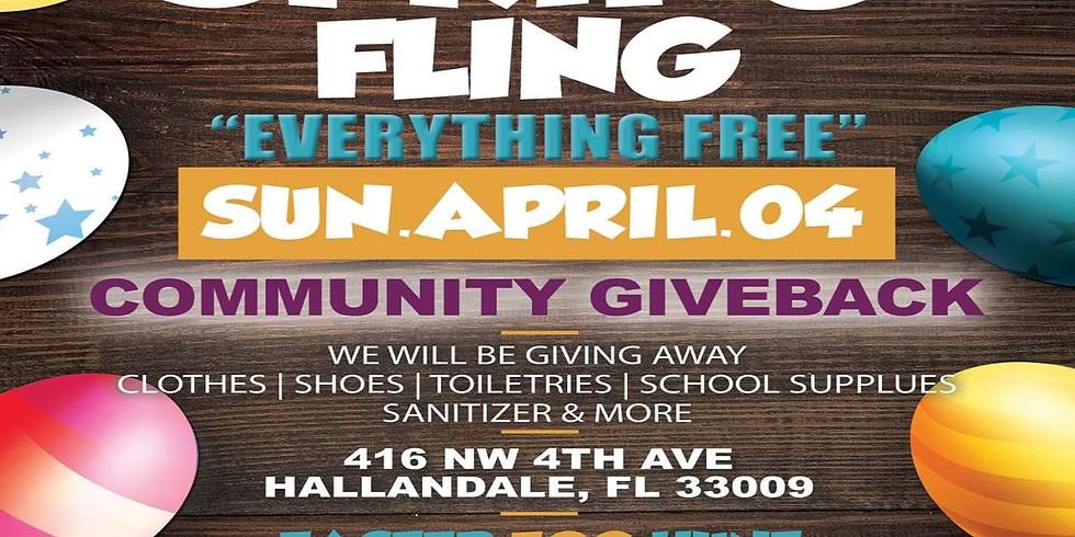 Spring Fling Community Giveaway Event