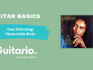 Your First Song: Three Little Birds