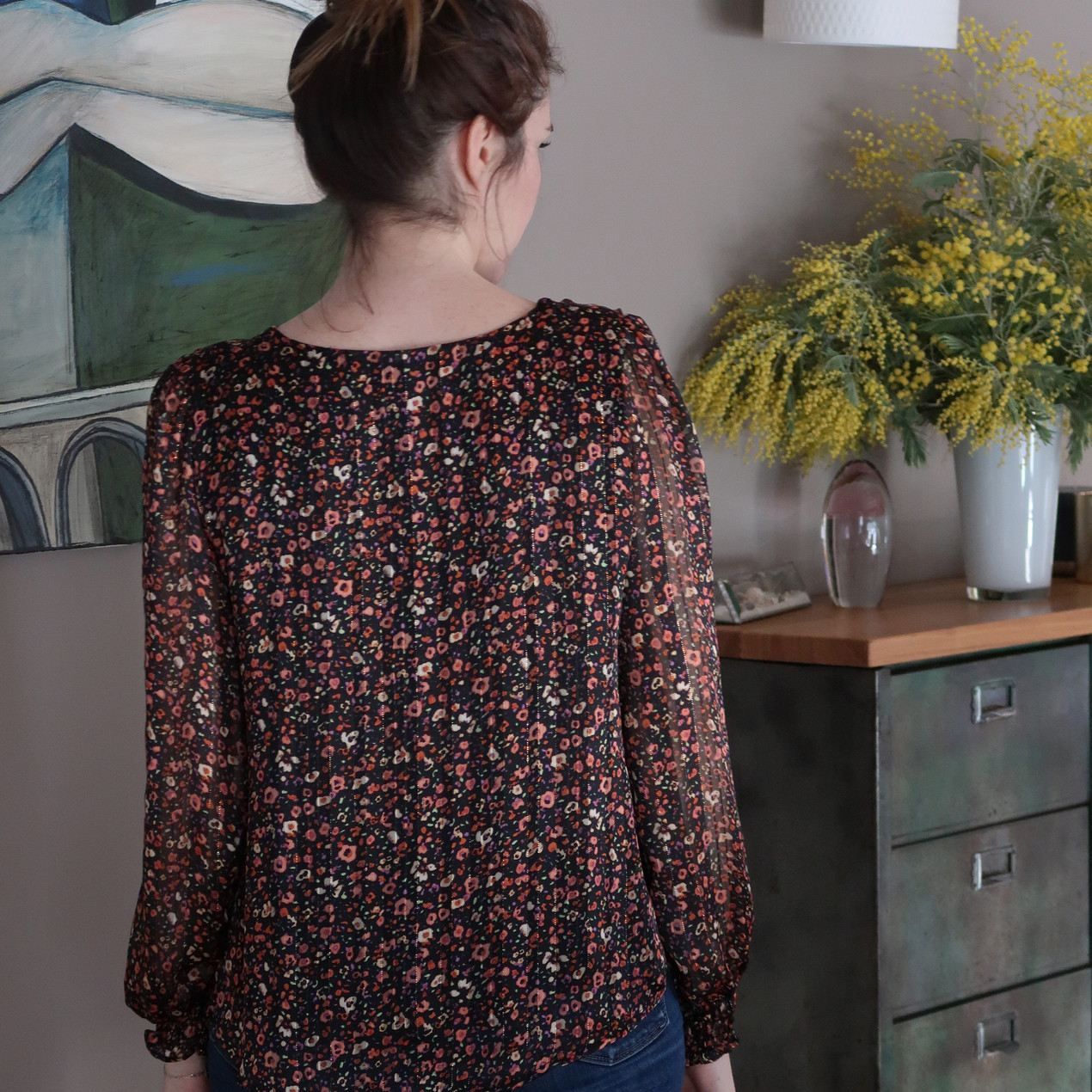 Les Claudines - top Johanna mode made in France