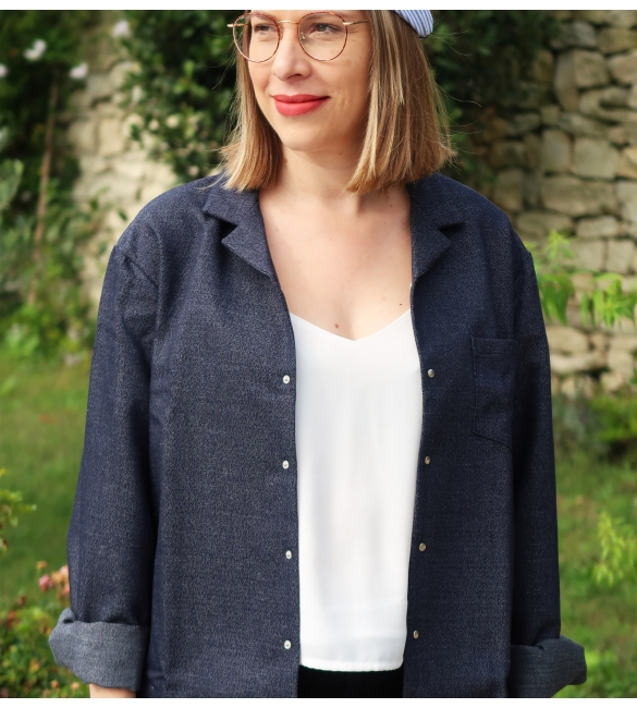 Veste Dominique - Les Claudines la mode made in France