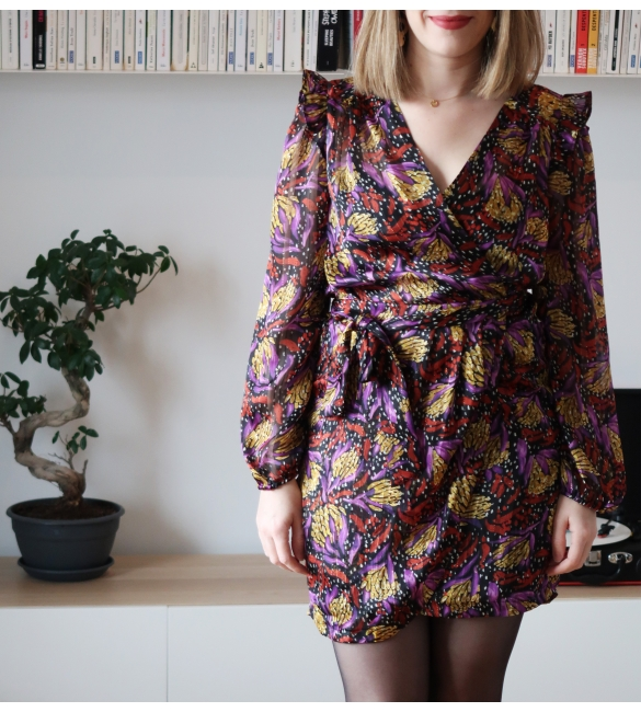 Robe Sonny - Les Claudines la mode made in France