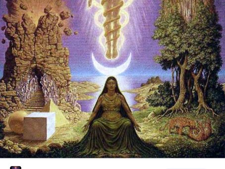 Looks like the gnostics symbolism was taken by Muslims to trick from original teachings of Gnostic