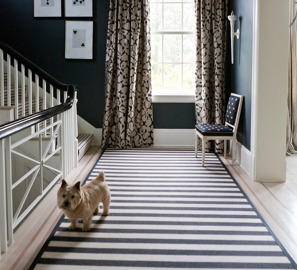 Custom hallway runner by J Brooks for Mary Drysdale