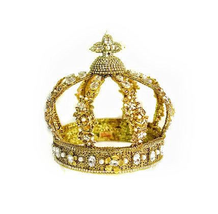 Королевская корона золотая